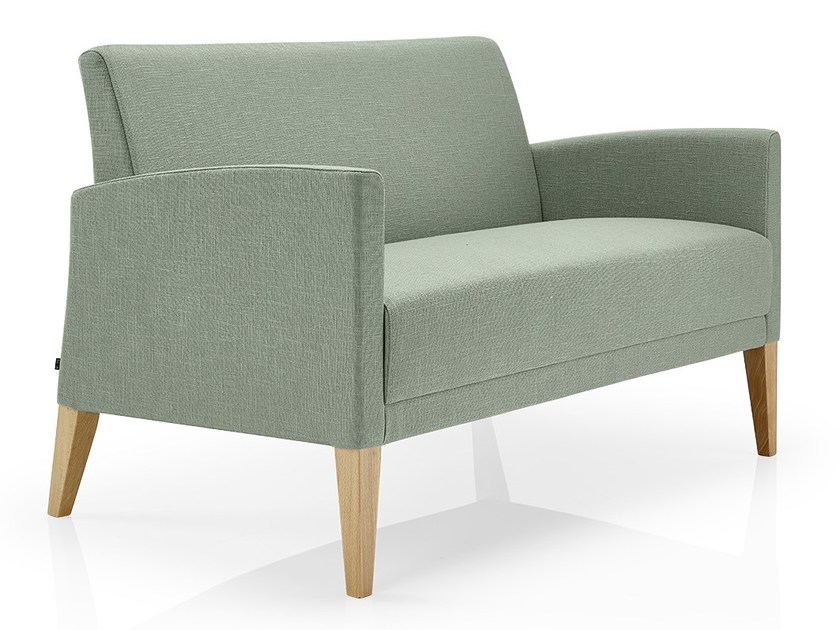 Fabric small sofa CASSIS | Small sofa by JMS