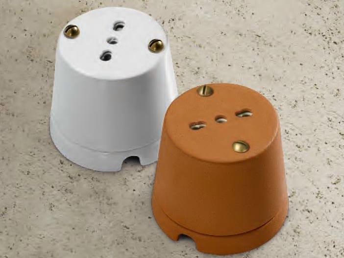 Ceramic electrical outlet CASTORE | Ceramic electrical outlet - Aldo Bernardi