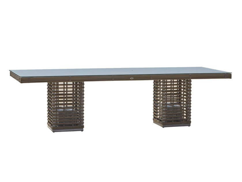 Rectangular table CASTRIES 23231.01 - SKYLINE design