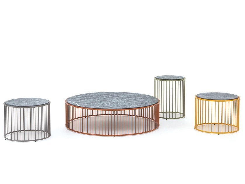 Outdoor side table CAULFIELD OUTDOOR by Minotti