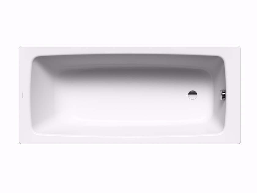 Rectangular enamelled steel bathtub CAYONO - Kaldewei Italia