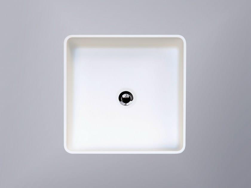 Countertop square HI-MACS® washbasin CB330S - HI-MACS® by LG Hausys Europe