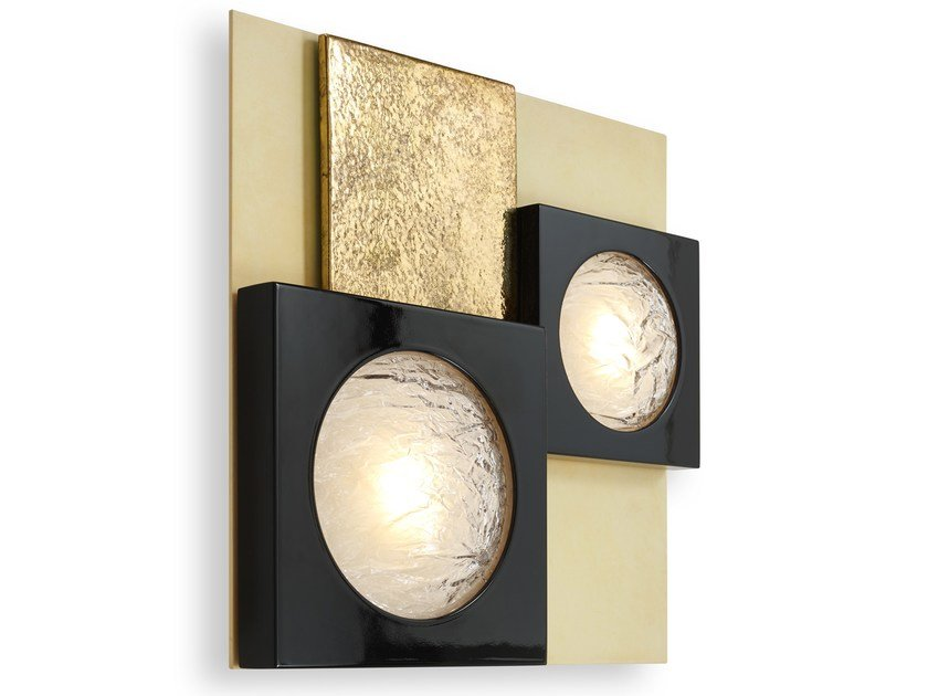 LED wooden wall light CECILE | LED wall light by MARIONI