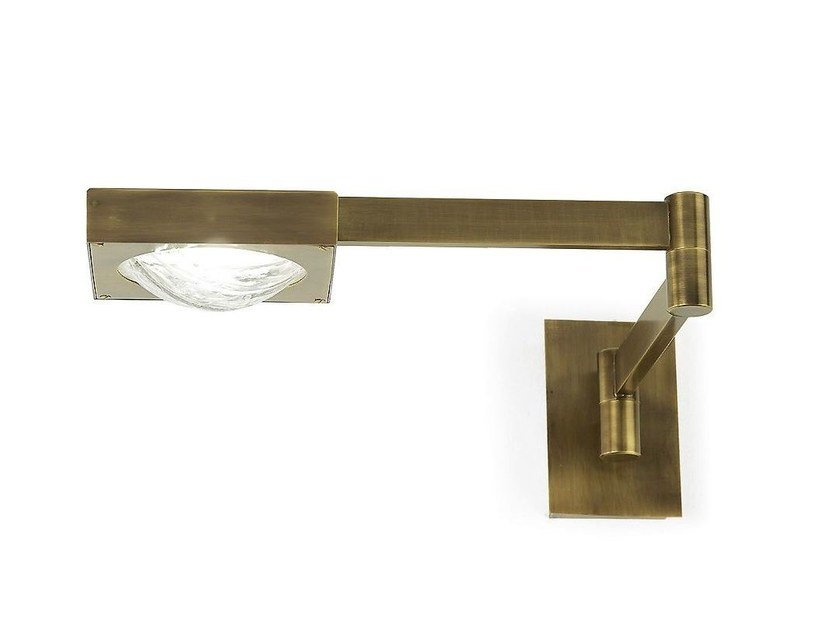 LED adjustable brass wall lamp CECILE | Wall lamp - MARIONI