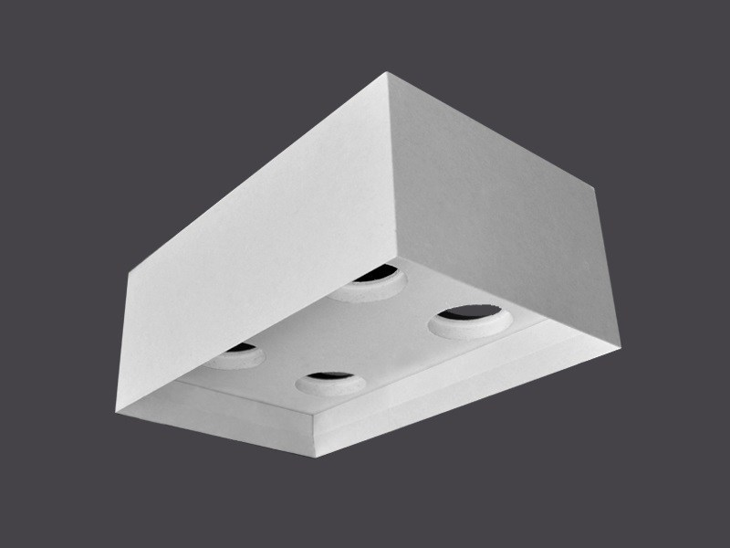 Ceiling light fixtures in Plasterboard DOUBLE CEILING LIGHT FIXTURES 135° by Gyps
