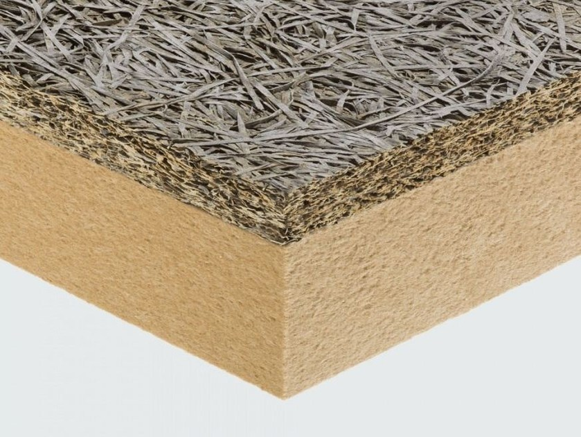 Thermal insulation panel / sound insulation panel CELENIT F2/C by celenit