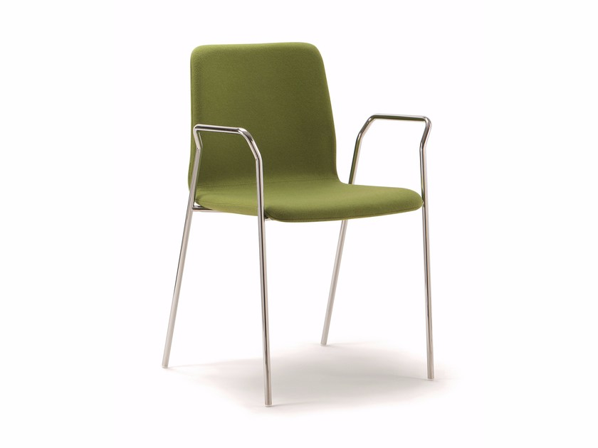 Upholstered chair CELSIUS   Upholstered chair by Quadrifoglio