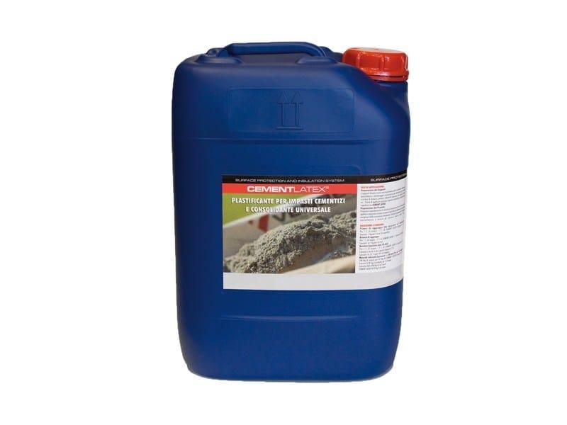 Additive for cement and concrete CEMENT LATEX - EDINET