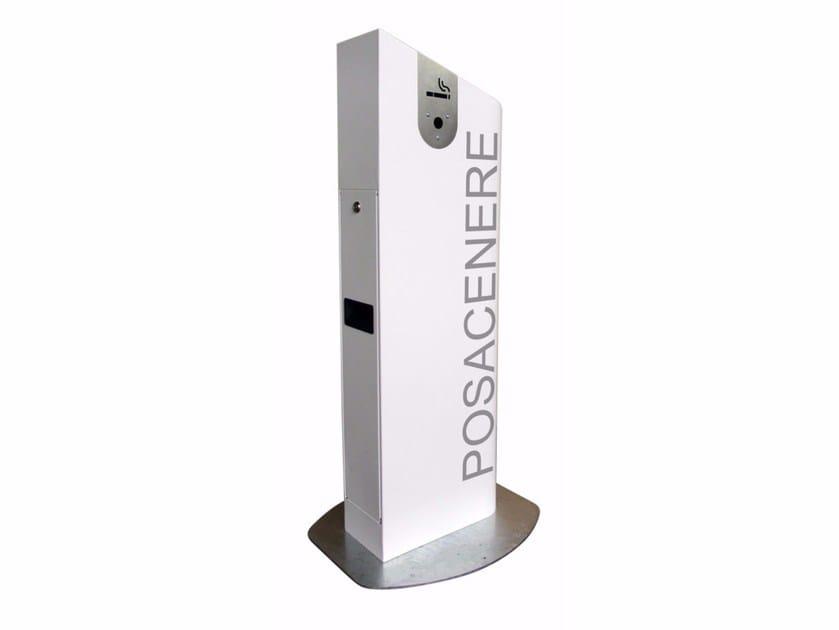 Stainless steel ashtray CENERONE - A.U.ESSE