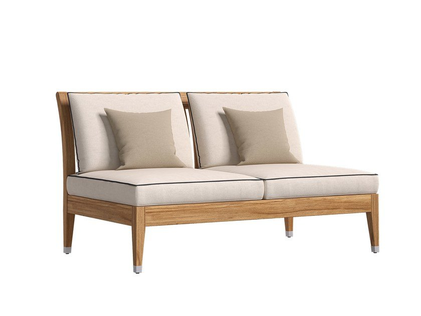 2 seater fabric sofa CENTRAL MODULE 2P by Atmosphera