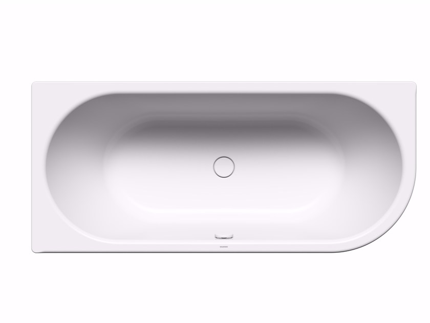 Built-in steel bathtub CENTRO DUO 1 RIGHT by Kaldewei Italia