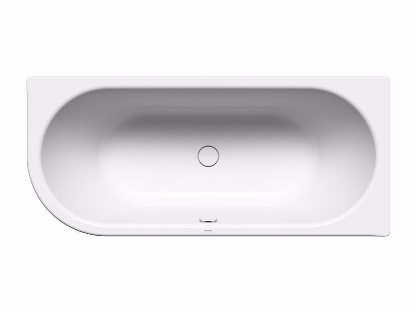 Built-in rectangular steel bathtub CENTRO DUO 1 left - Kaldewei Italia