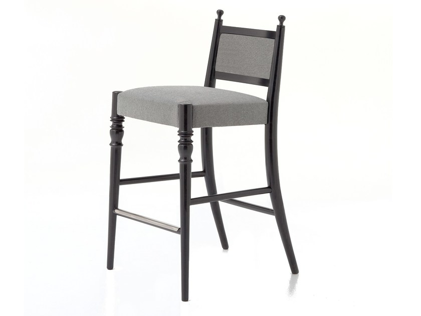 Counter stool with footrest CENTURY 06 H/L - Very Wood