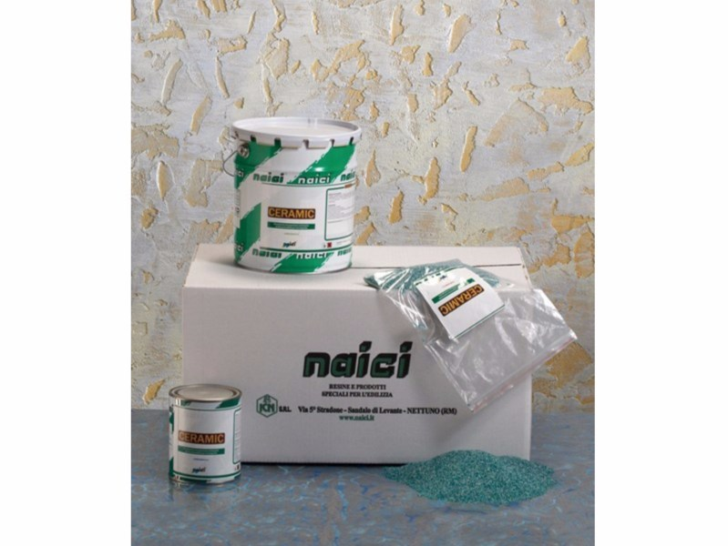 Synthetic material wall/floor tiles CERAMIC - NAICI ITALIA
