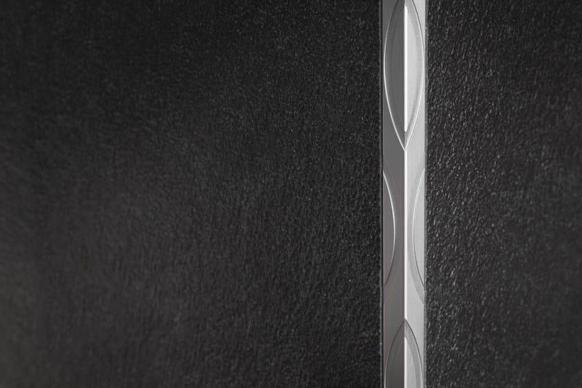 Aluminium edge profile for walls PROANGLE Q OMEGA DESIGN by PROFILPAS