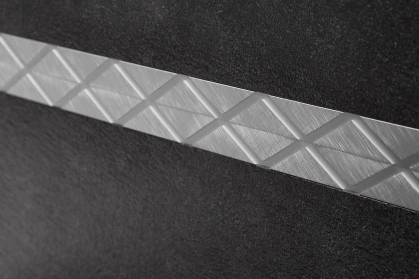 Prolist Omega Design LFDBD platinum anodised aluminium