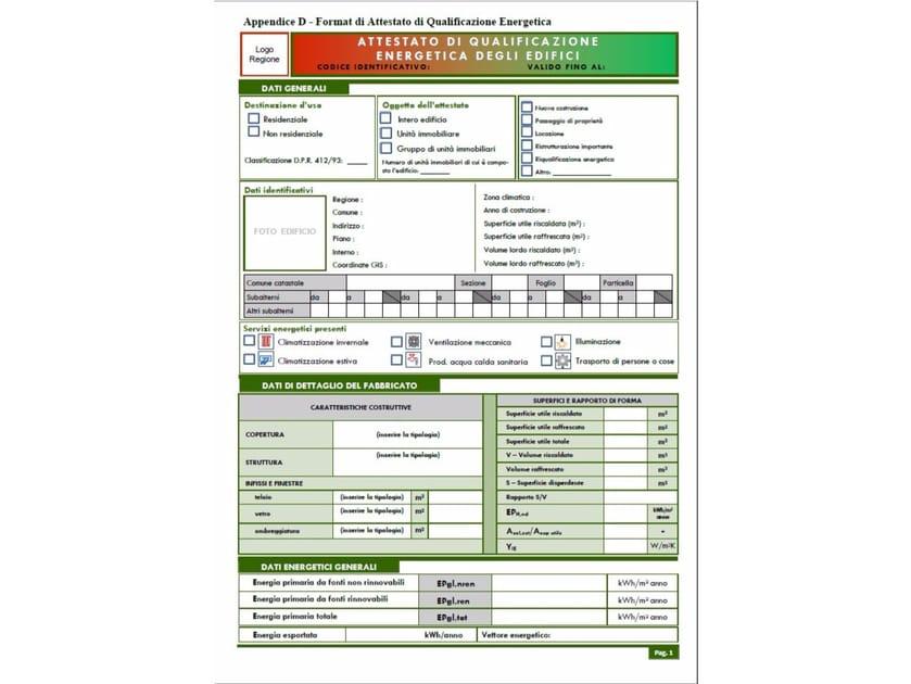 Certificazione energetica (L.10 91, DLgs 311 06) CERTIFICAZIONE ENERGETICA BIM by ATH ITALIA software