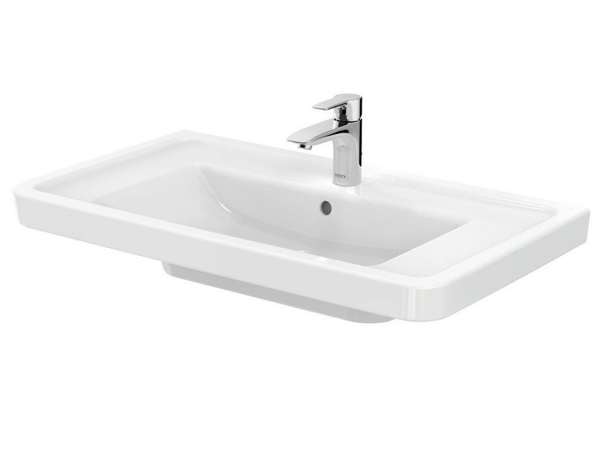 Rectangular pedestal washbasin CF | Pedestal washbasin - TOTO