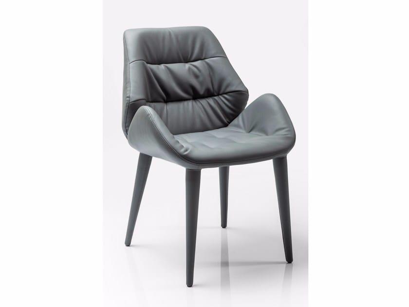 Upholstered chair CHAIR ARMREST JUMPER - KARE-DESIGN