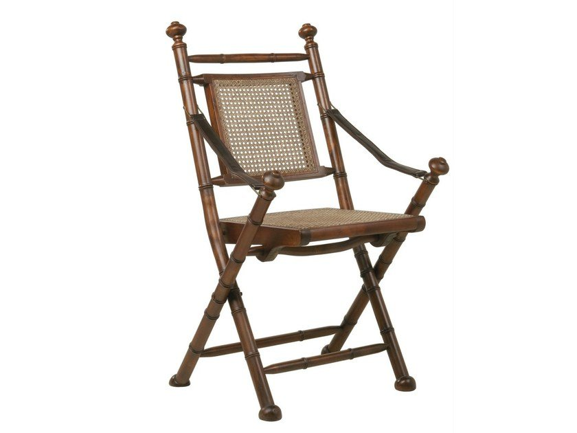 Folding rattan chair COLONIAL | Rattan chair - KARE-DESIGN