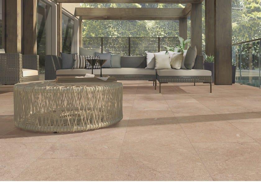 Pavimento in gres porcellanato effetto pietra chalon - Casalgrande padana gres porcellanato ...