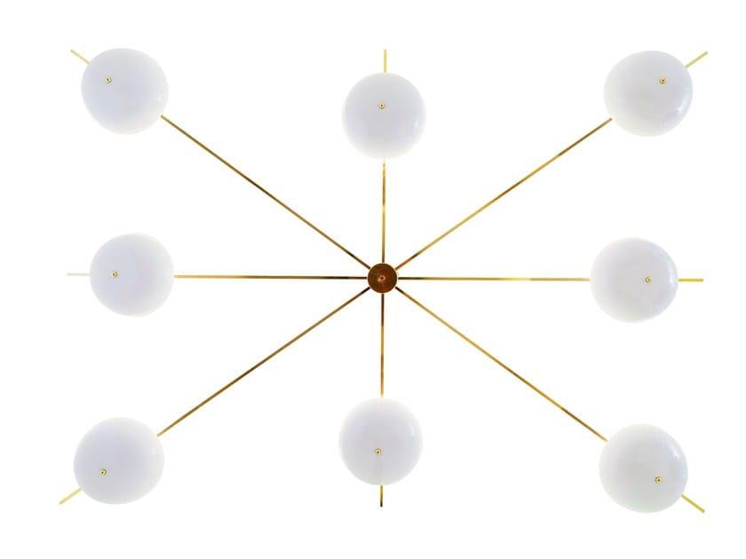 Lampadario in alluminio CHAMPAGNE - altreforme