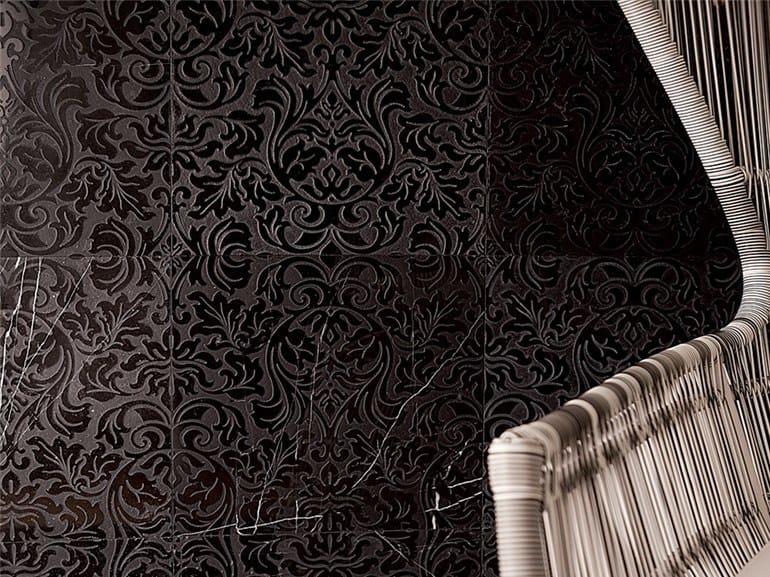 Marble wall tiles CHARME - HANNA by Lithos Mosaico Italia