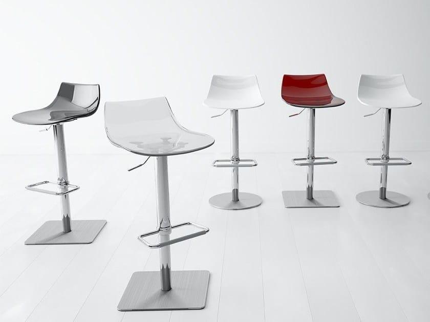 Height-adjustable stool CHEF | Stool - CANCIO
