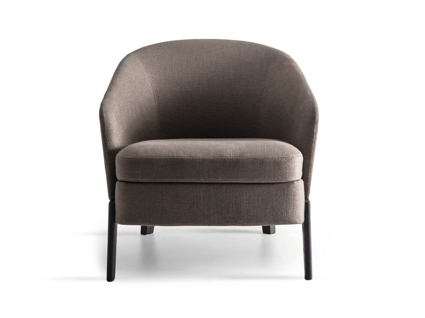 Fabric armchair with armrests CHELSEA | Fabric armchair - MOLTENI & C.