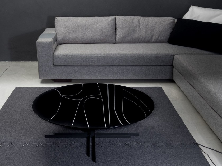 Round coffee table for living room CHELSEA | Round coffee table by Elli Design
