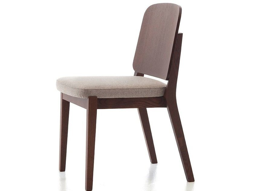 Contemporary style stackable wooden restaurant chair CHELSEA 11 - Very Wood