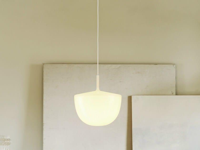 Polycarbonate pendant lamp CHESHIRE | Pendant lamp - FontanaArte