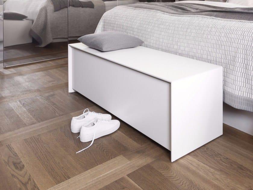 Lacquered MDF storage chest with drawer CHEST - Schönbuch