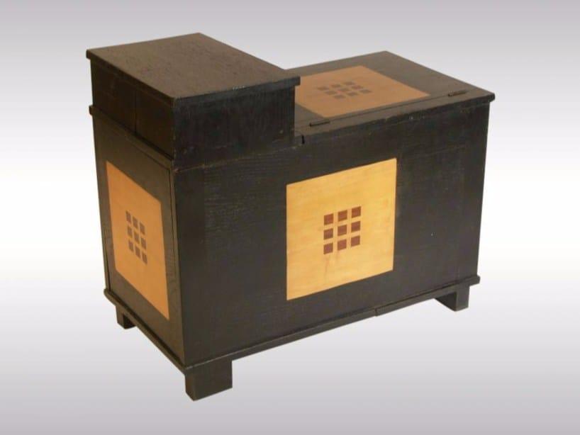 Wooden storage chest CHEST - Woka Lamps Vienna