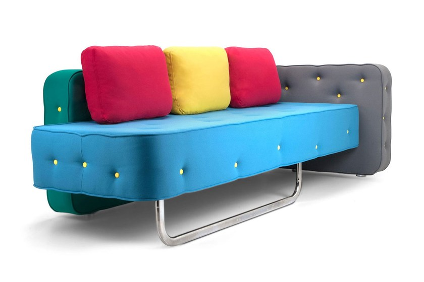 3 seater fabric sofa CHEW | Sofa by Adrenalina