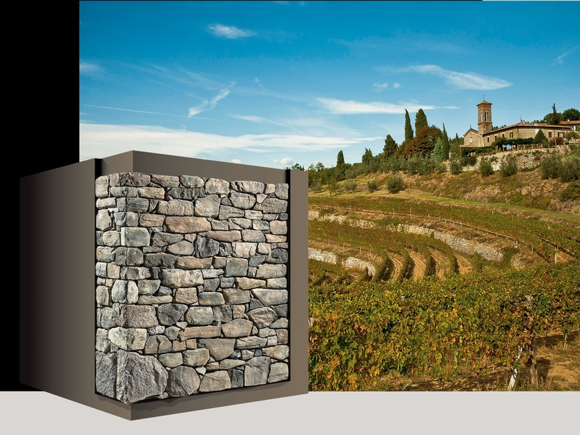 Artificial stone finish CHIANTI P89 by GEOPIETRA®