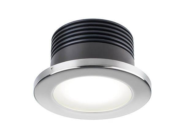 LED recessed stainless steel spotlight CHIARA 6W - Quicklighting