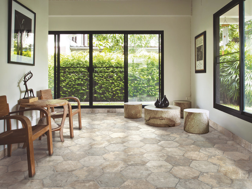 Glazed stoneware flooring CHICAGO | Flooring - CIR