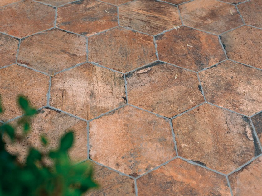 Glazed stoneware outdoor floor tiles CHICAGO | Outdoor floor tiles - CIR