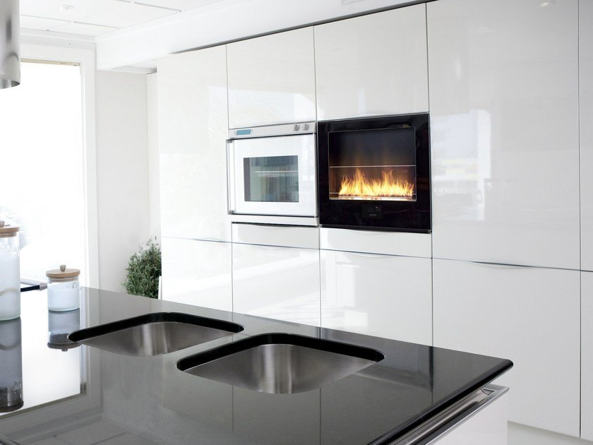 Built-in bioethanol fireplace CHILI FIRE by Planika