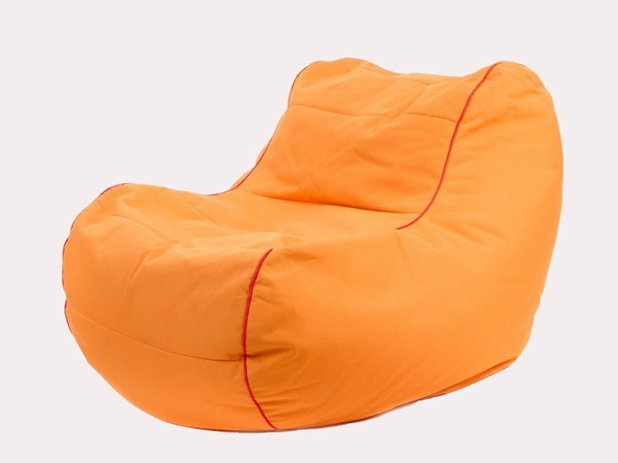Upholstered polyester armchair with removable cover CHILLY BEAN by JUMBO BAG