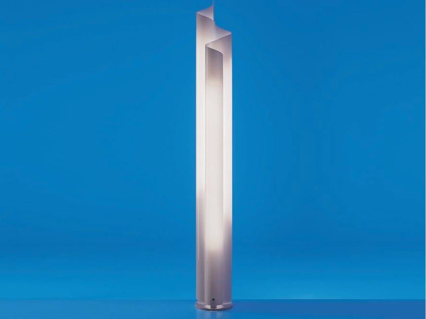 Lampada da terra fluorescente in metacrilato CHIMERA   Lampada da terra by Artemide
