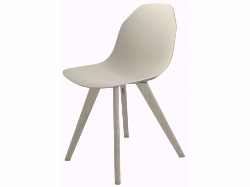 Aluminium chair CHISTERA | Chair - ROCHE BOBOIS