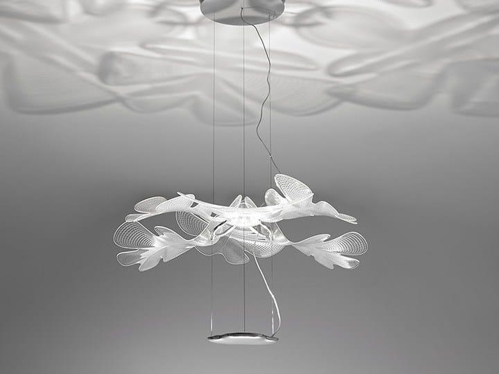 LED indirect light pendant lamp CHLOROPHILIA by Artemide