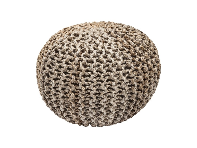 Jute pouf CHOCO CANDY by KARE-DESIGN