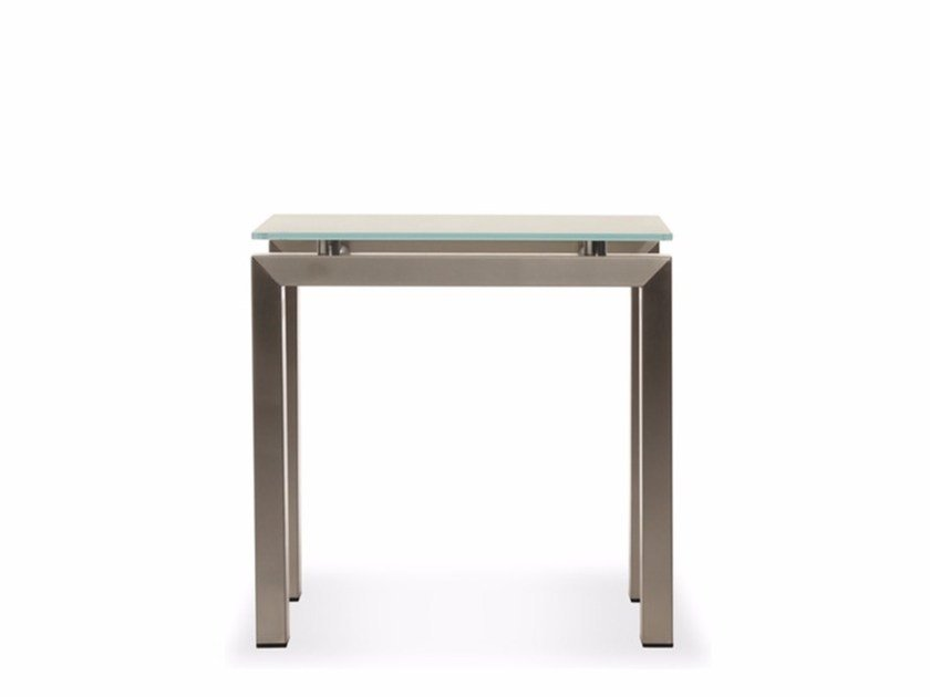 Square Xeramica coffee table CHROMINOX | Coffee table - Joli