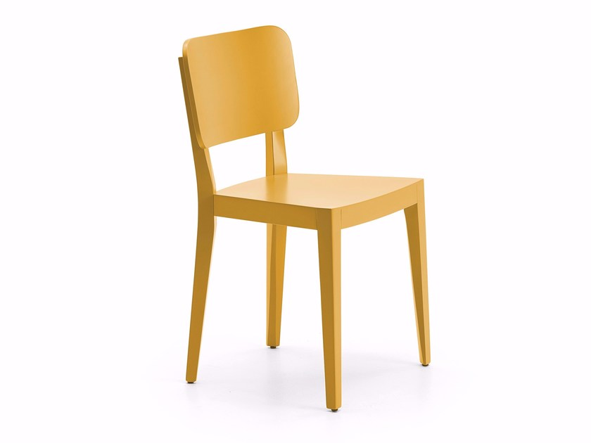 Multi-layer wood chair CIACOLA by Varaschin
