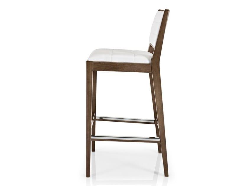 Leather counter stool with footrest CIBELLE   Counter stool - J. MOREIRA DA SILVA & FILHOS, SA