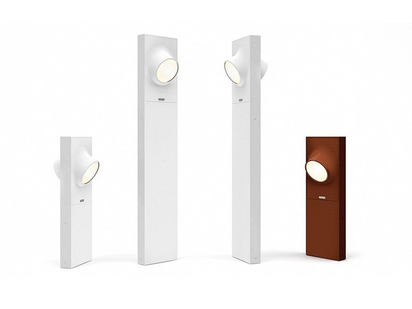 LED die cast aluminium bollard light CICLOPE | Bollard light by Artemide