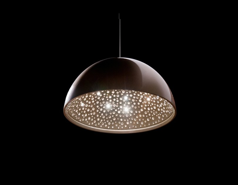 Halogen crystal pendant lamp CIEL | Crystal pendant lamp by Manooi